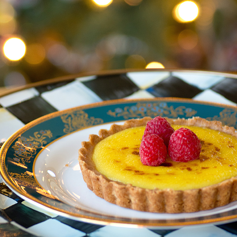 Savoring Time in the Kitchen: Lemon Tart with Pine Nut Crust