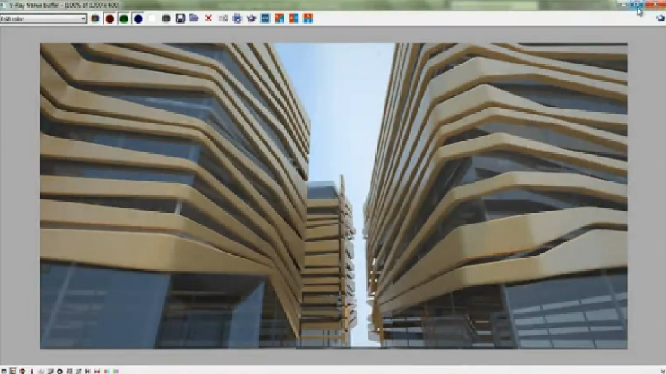 he will show you how to setup lighting combine hdri for exterior