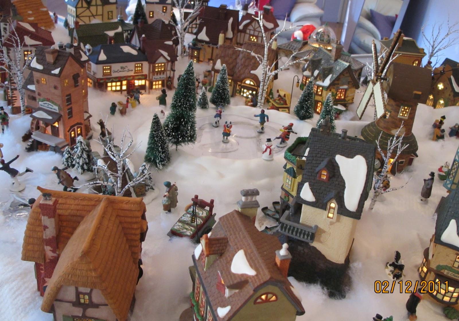 Department 56 dickens village display ideas - Christmas Village Fun Blog