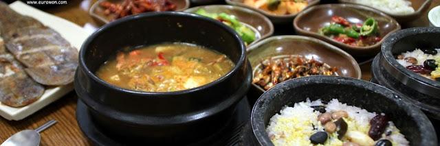 Comida típica de Namhae