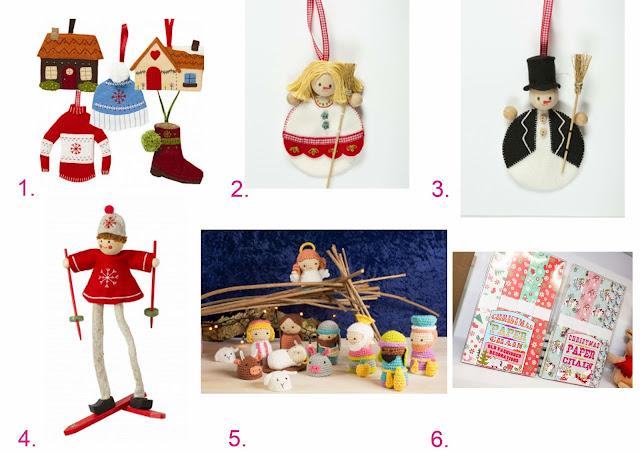 kits diy de fieltro navideños en sweet sixteen craft store