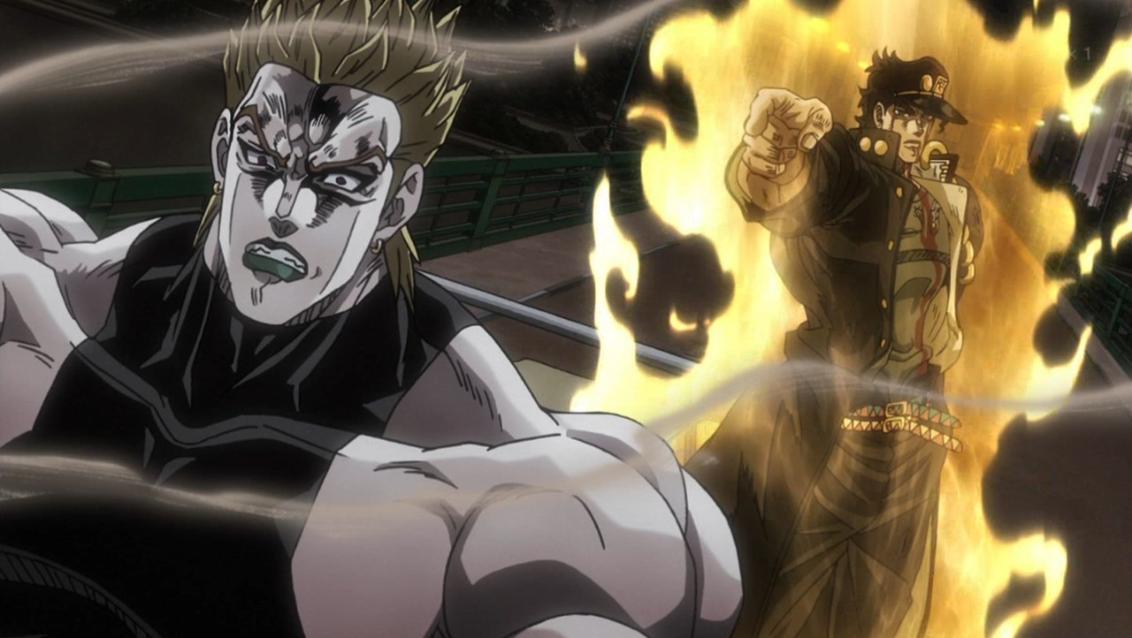Anarchy In The Galaxy Anime Review Jojos Bizarre Adventure Stardust Crusaders