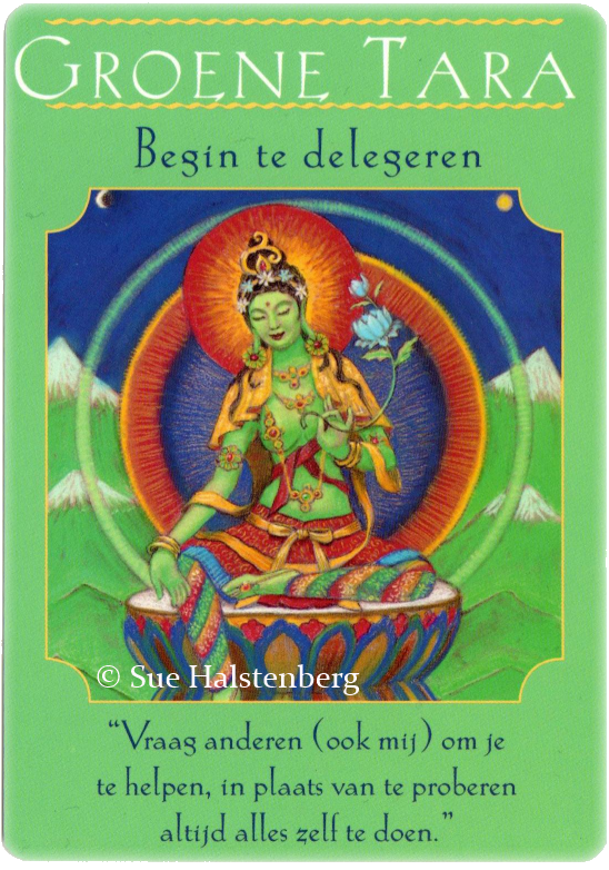 Goddess Guidance Oracle, Green Tara, Doreen Virtue