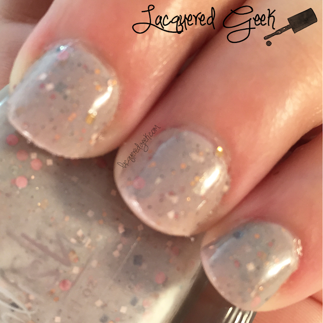 Pahlish Mystery Polish nail polish swatch from Lacquered Geek