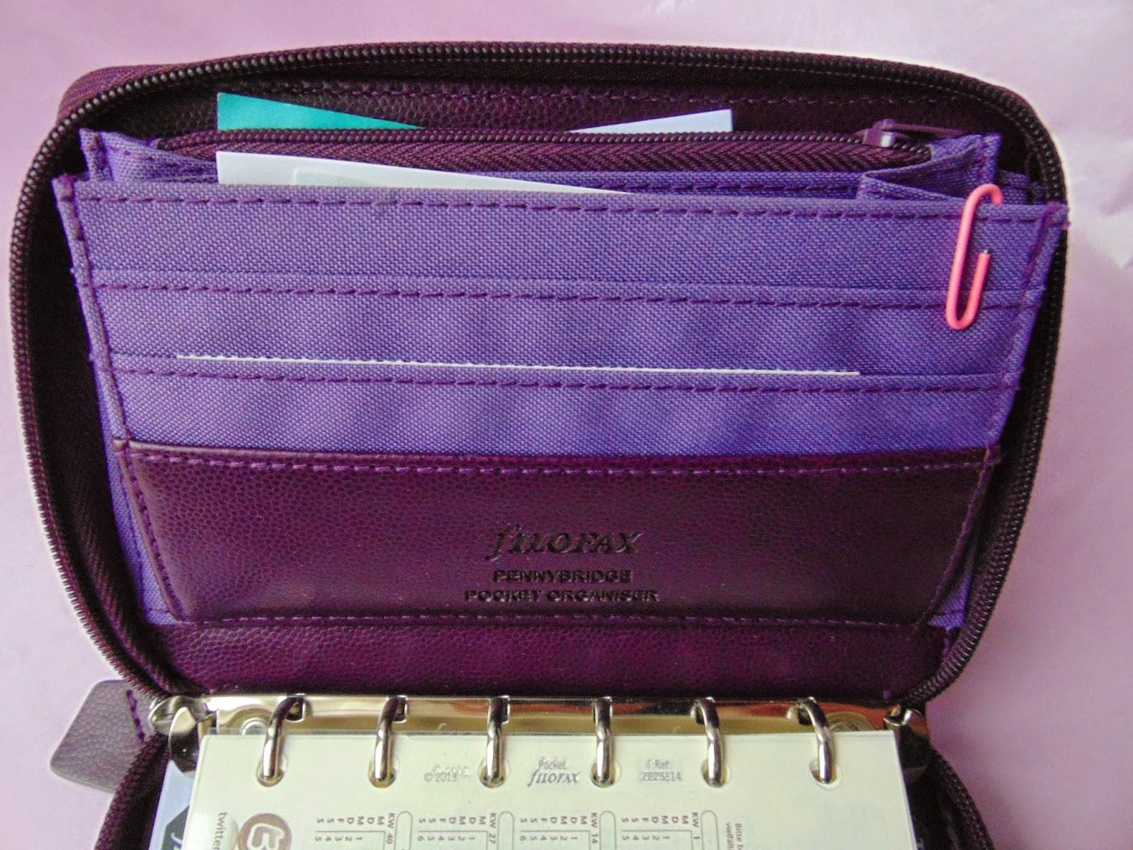 Taschenkalender - Filofax Pennybridge - www.annitschkasblog.de