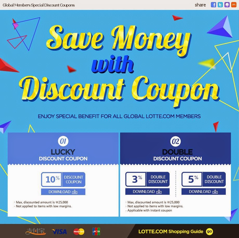 Global coupons