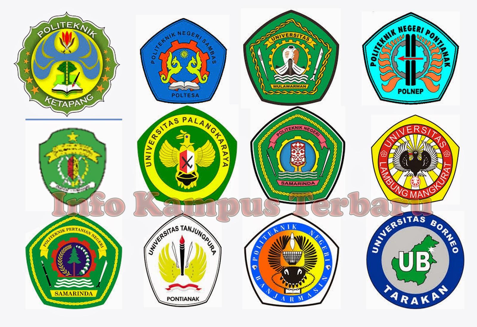 Daftar Perguruan Tinggi Negeri di Pulau Kalimantan