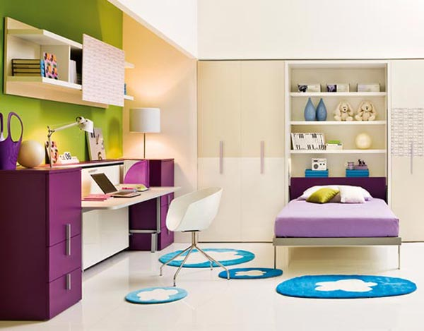 Modern Small Girls Bedroom Design Ideas