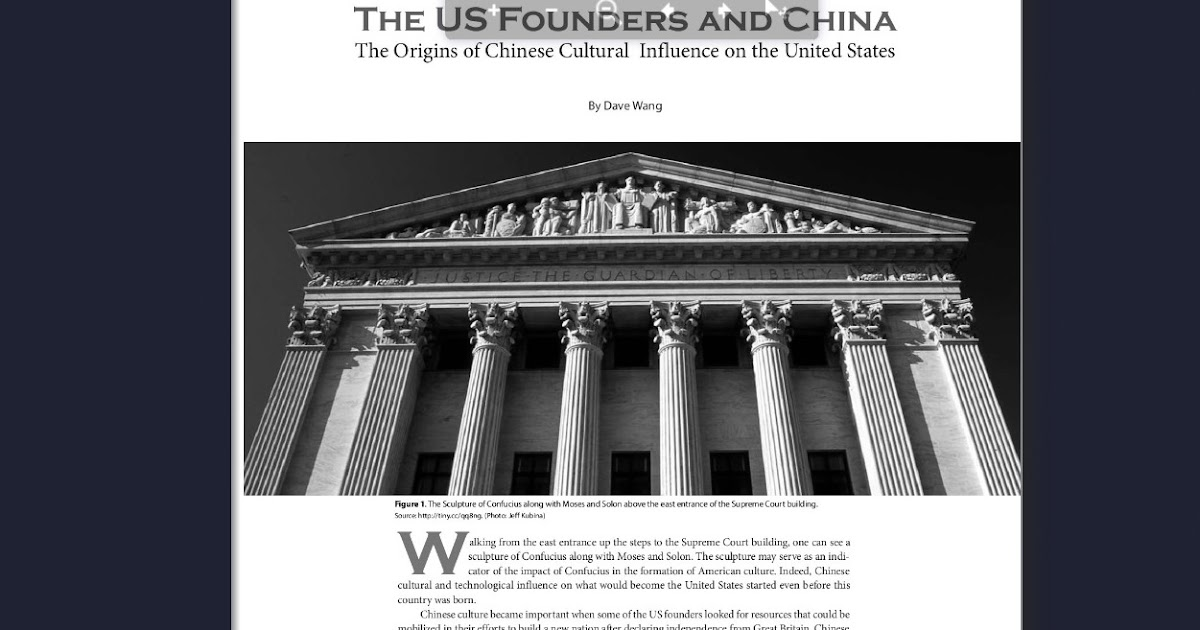 The U. S .Founders and China 美国开国元勋与中国: 237. The US