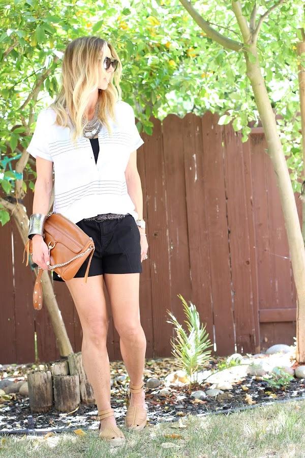 summer style linen top