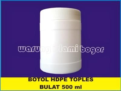 Botol Lem FOX HDPE Bulat Untuk Kemasan Kencleng dan Kotak Infaq Ukuran ...