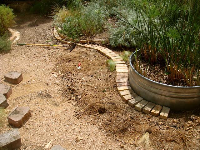 Garden Bed Bricks : Brick laminate picture garden edging