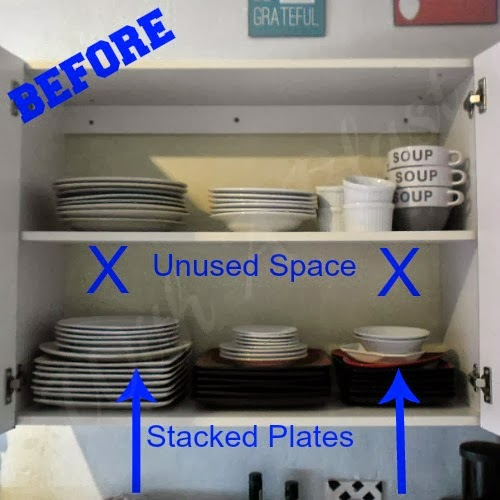 How To Organize My Kitchen Cabinets