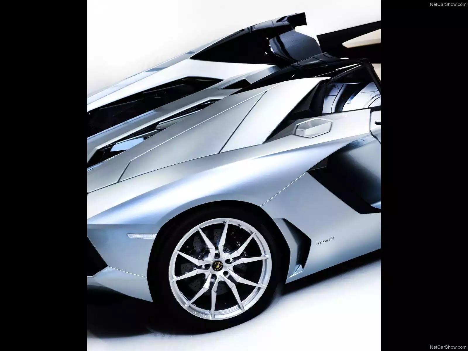 Hình ảnh siêu xe Lamborghini Aventador LP700-4 Roadster 2014 & nội ngoại thất