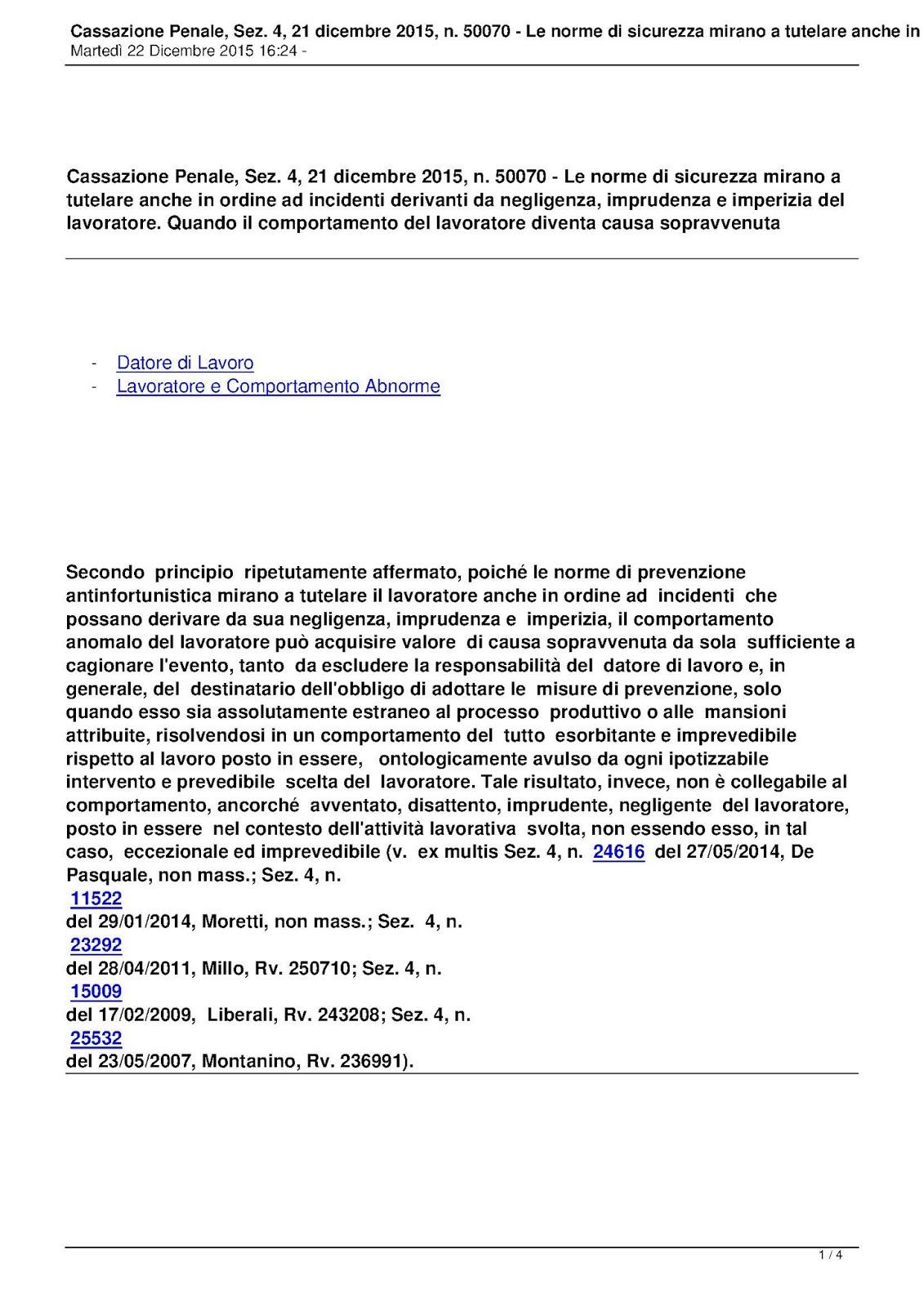 Moreno Tini Sicurezza Lavoro E Cantieri Dicembre 2015