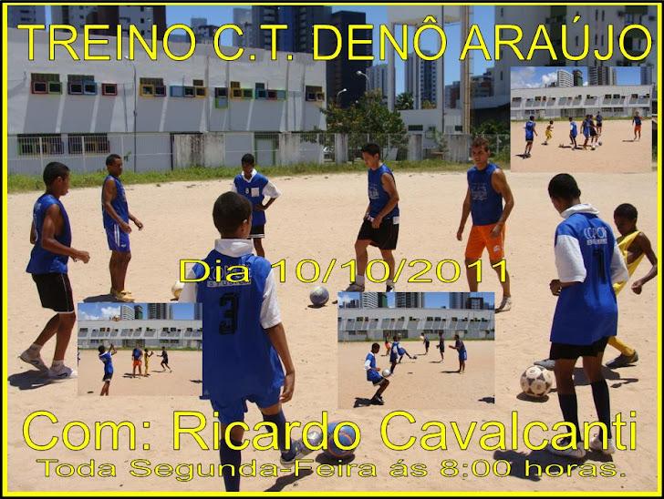 Treino com Ricardo Cavalcanti Dia 10/10/2011