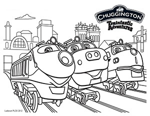 join chuggington at kidtoons in october - Chuggington Wilson Coloring Pages
