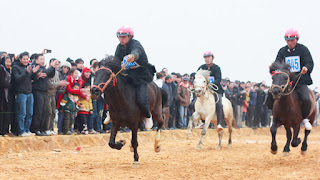 Unique horse racing in Bac Ha