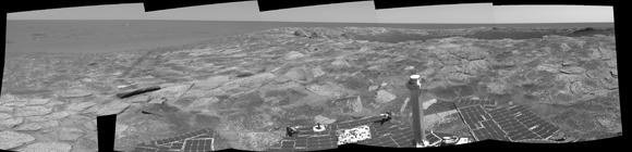 Tablón de madera artificial hallado en Marte