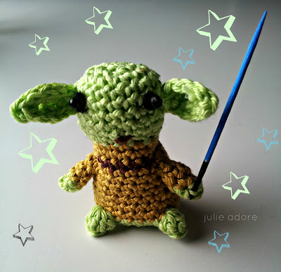 amigurumi starwars yoda crochet