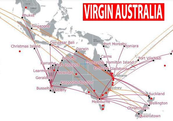 Virgin flight routes all the best flight in 2018 richard branson virgin australia direct sydney san francisco sciox Images