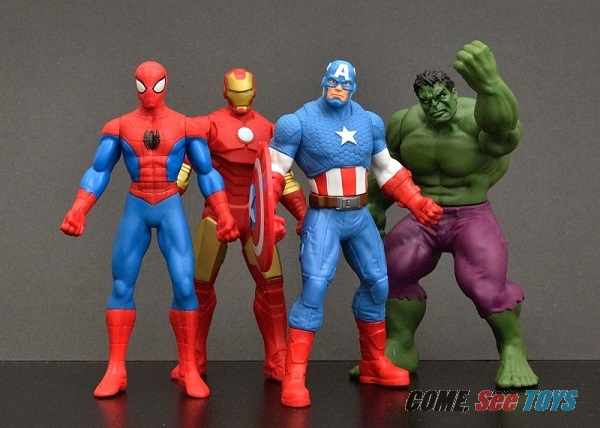 "Marvel Avengers 6/"" Action Figure Captain America Hulk Spiderman Iron Man"