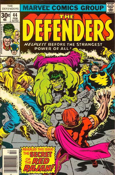 Portada de The Defenders 44