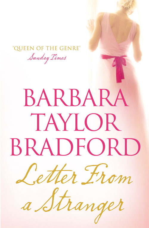 The Secret Writer Letter From A Stranger By Barbara Taylor Bradford