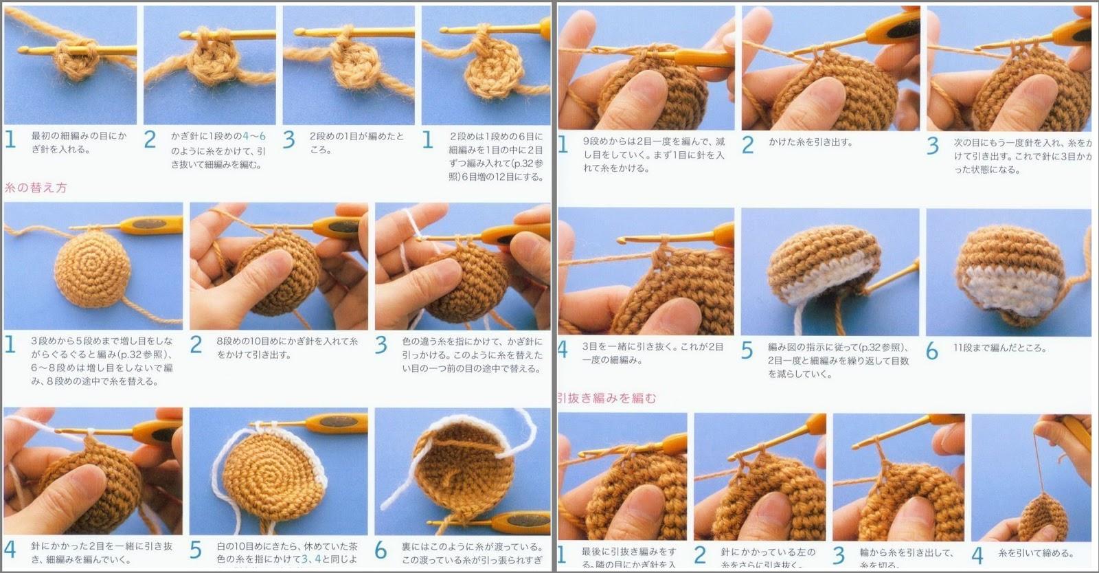 Вязание игрушек для начинающих крючком 90