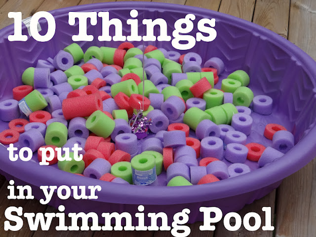 Busy Hands Blessed Hearts 10 Things To Put In Your Childs Swimming Pool