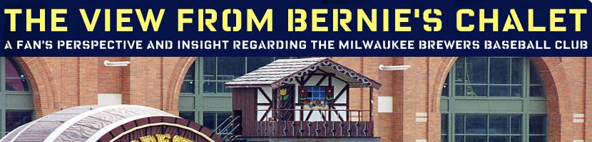 View From Bernie's Chalet - Milwaukee Brewers Baseball Podcast & Blog