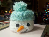 Snowman--Baby Blue