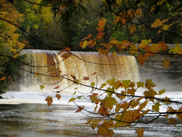 Upper Tahquamenon Falls, Michigan - October 8, 2014