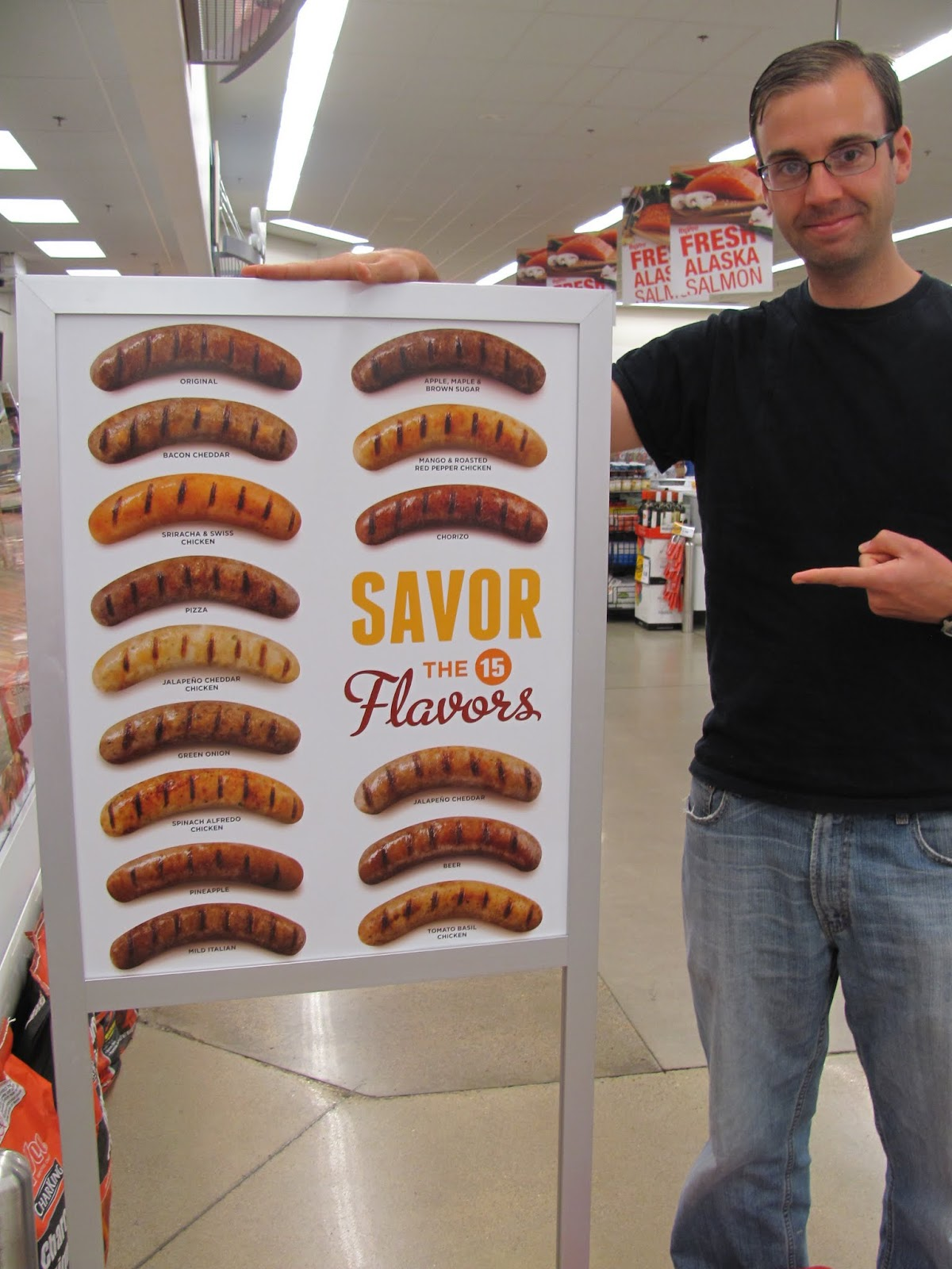 Savor the 15 flavors of American sausage