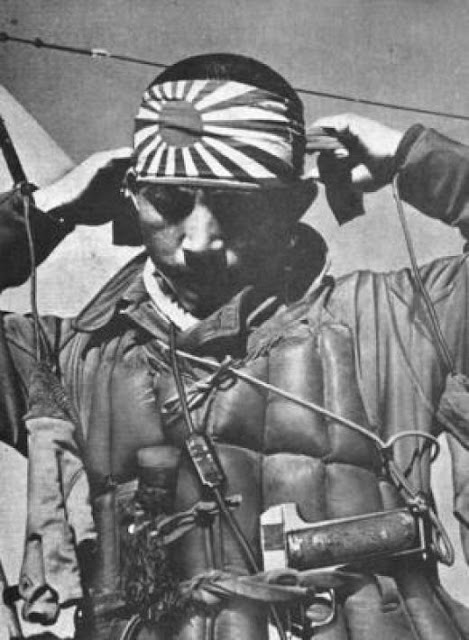 WW2 Japanese Kamakazee Soldier