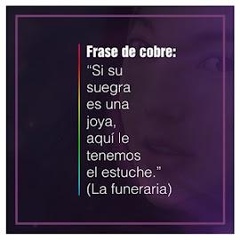 Frase de cobre: