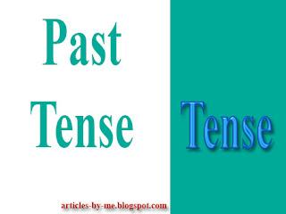 Pengertian Past Tense