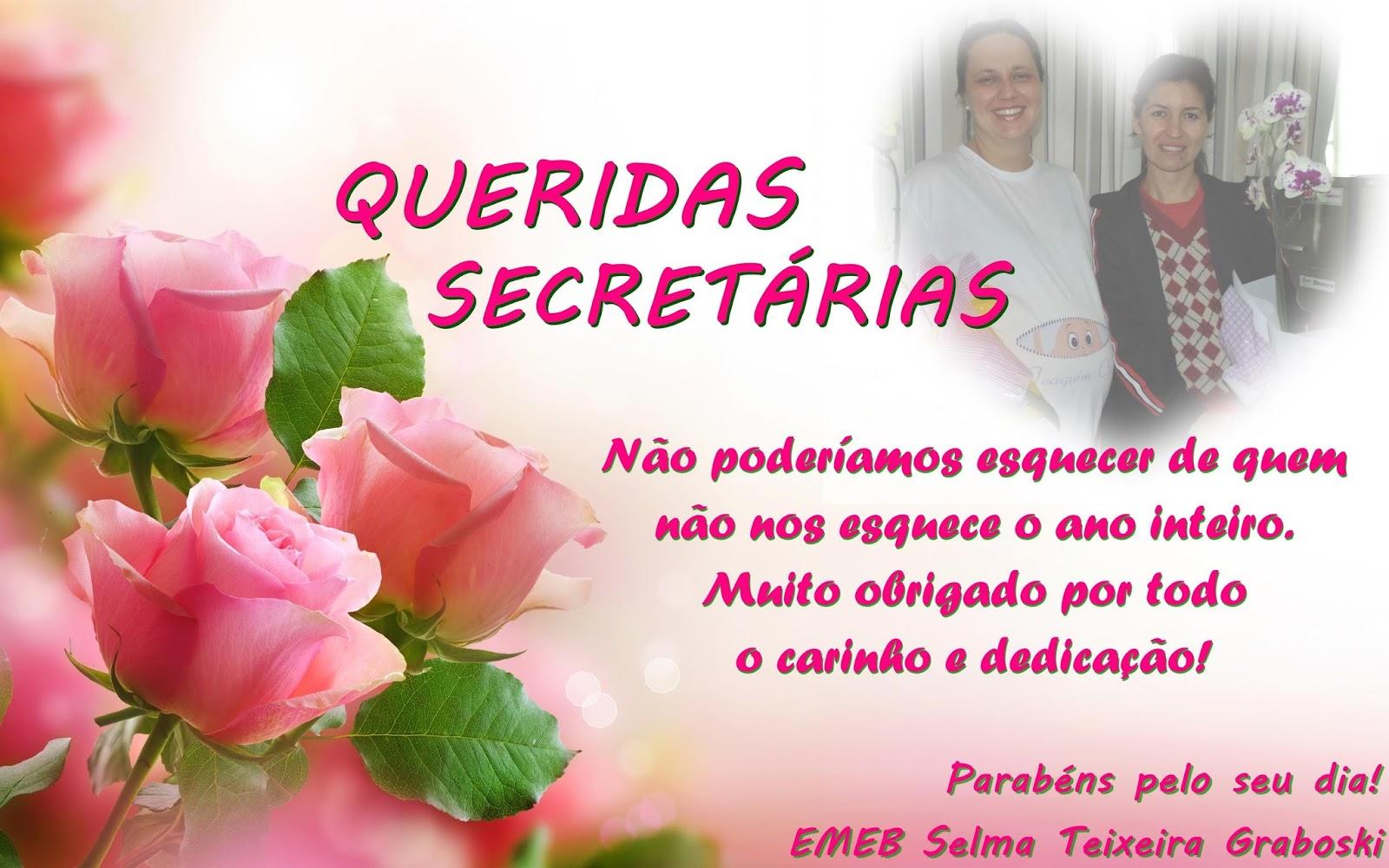 Emeb Profª Selma Teixeira Graboski Dia Da Secretária