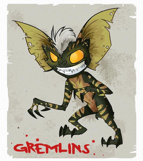 Gremlins por FuzzyPunch