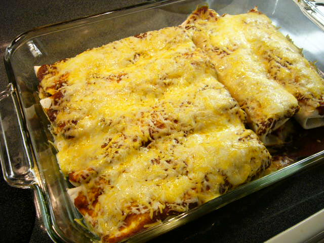 Beasley Farm Of Brooksville Chicken Enchiladas