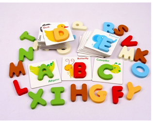ALPHABET DIGITAL CARD