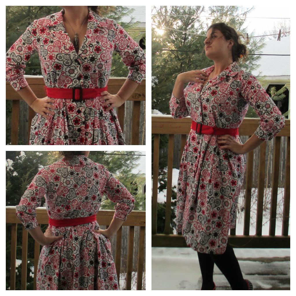 Christmas (or any time) Dress: Burda 7179