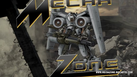 Mecha Zone: A-10 mech screenshot por Mecha-Master