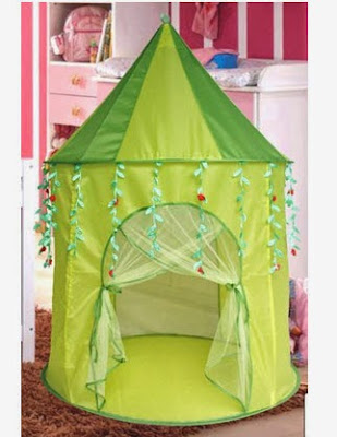 Green Leaf Princess popup Play Tent Castle Pop Up & Green Leaf Princess popup Play Tent Castle Pop Up ~ ToyGam