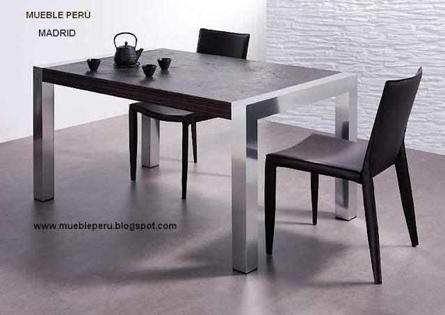 Comedores muebles per for Telefono registro bienes muebles madrid