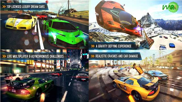 Asphalt 8: Airborne v40l Android screenshot