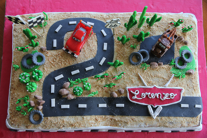 DolcélaVita food photography La torta Cars