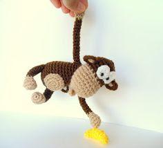 обезьяна вязаная своими руками