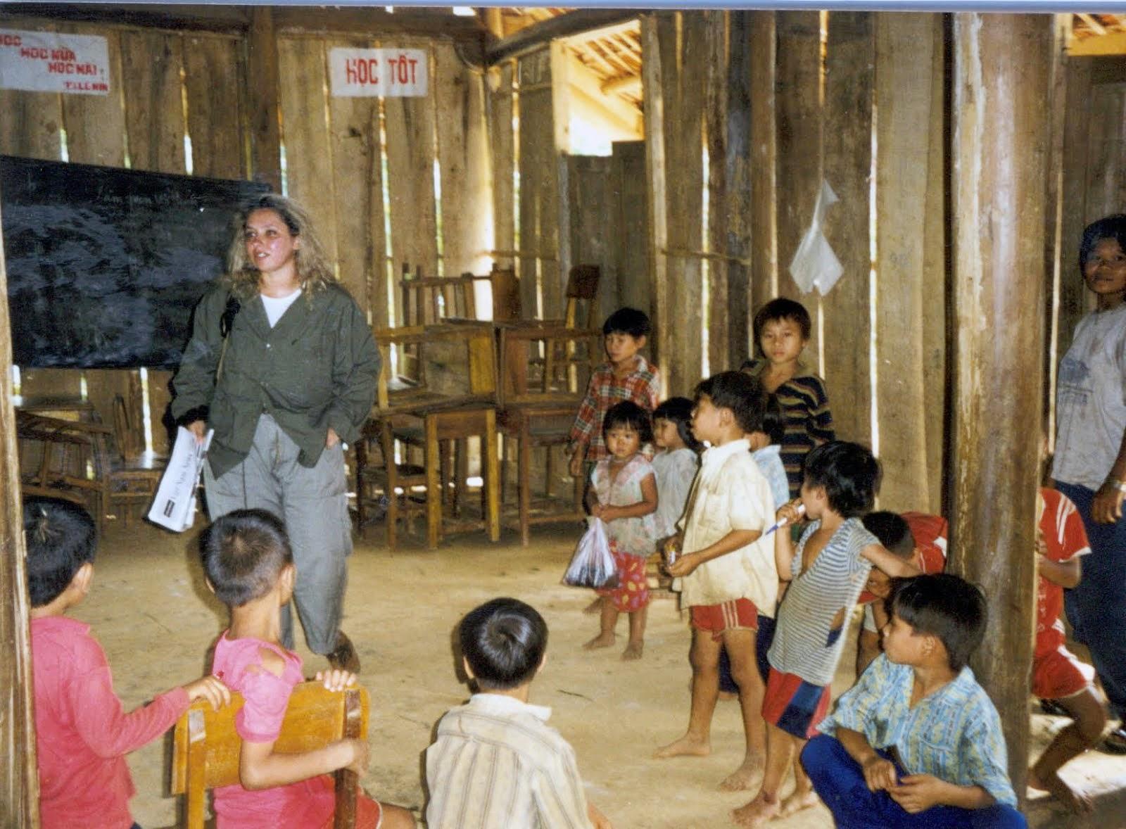 nella scuola di Saigon