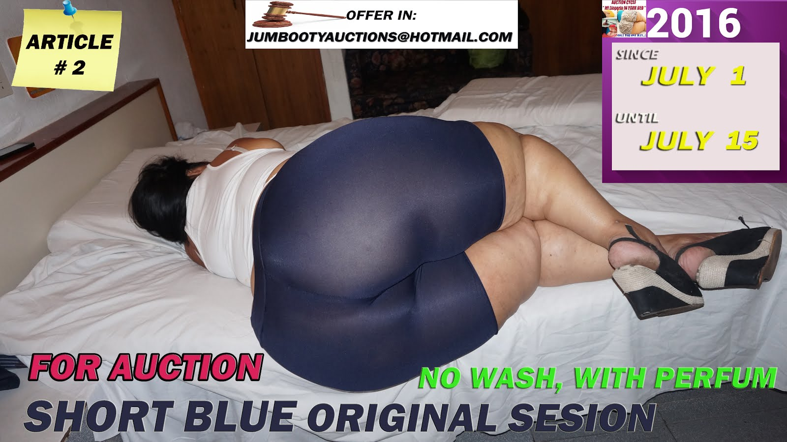 SHORT BLUE click in pic for view video